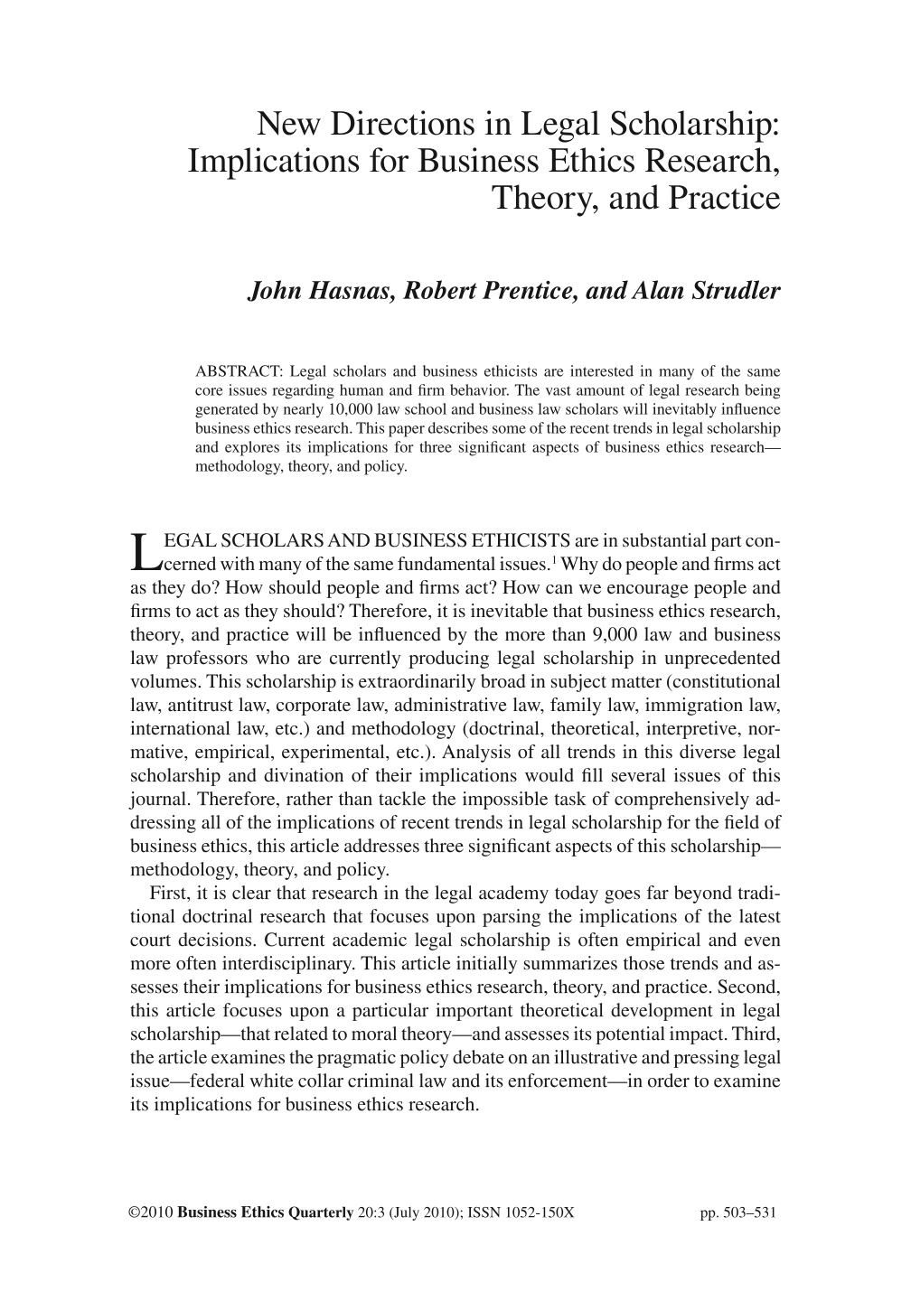 ethics section of research paper This article or section possibly contains  ethics in religion ethics paper  kirby laing institute for christian ethics resources, events, and research on a.