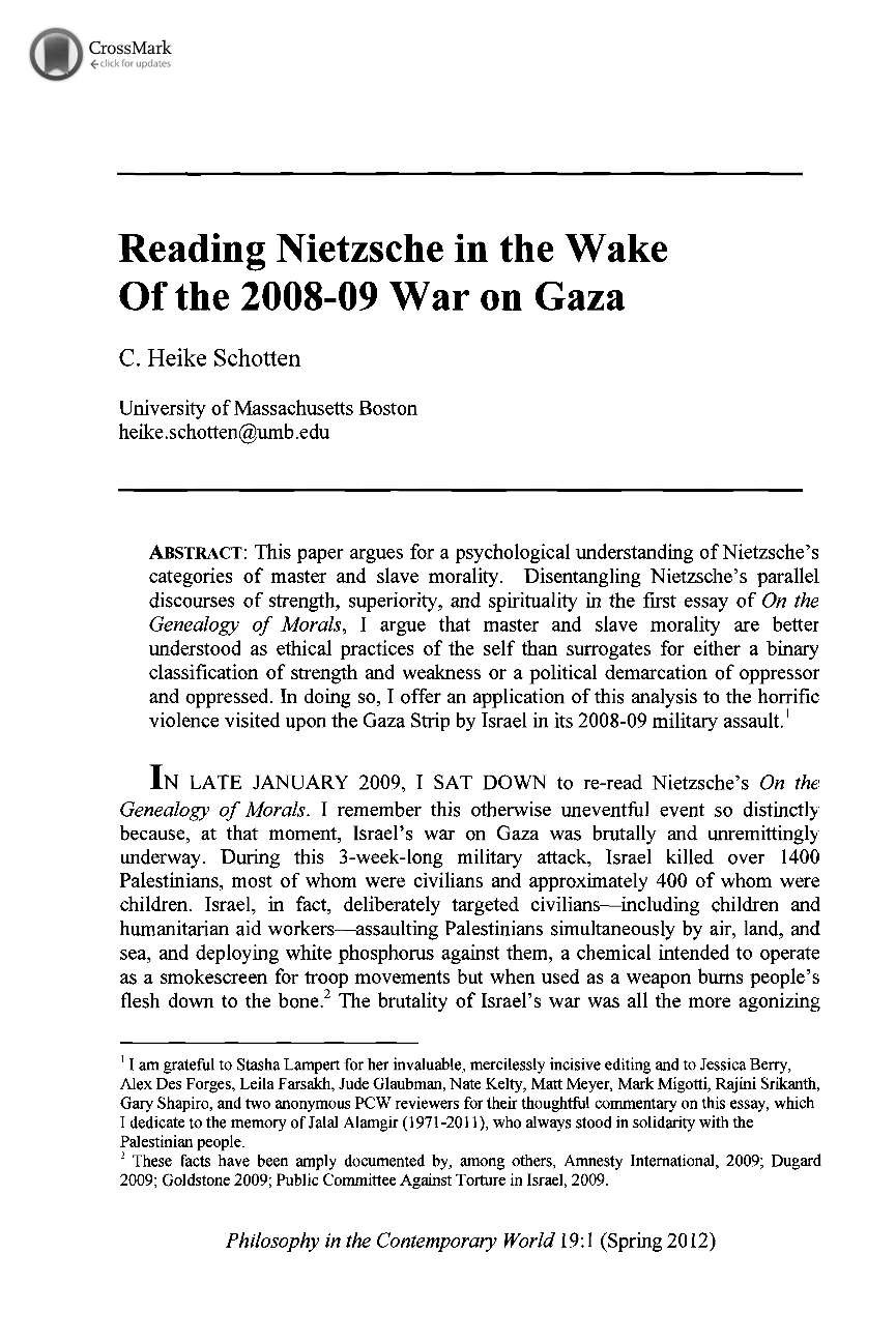 genealogy of morals first essay analysis Nietzsche, on the genealogy of morality – preface & essay one (revised: 5 february 2002) notes by john protevi / permission to reproduce granted for academic use / please do not cite in any.