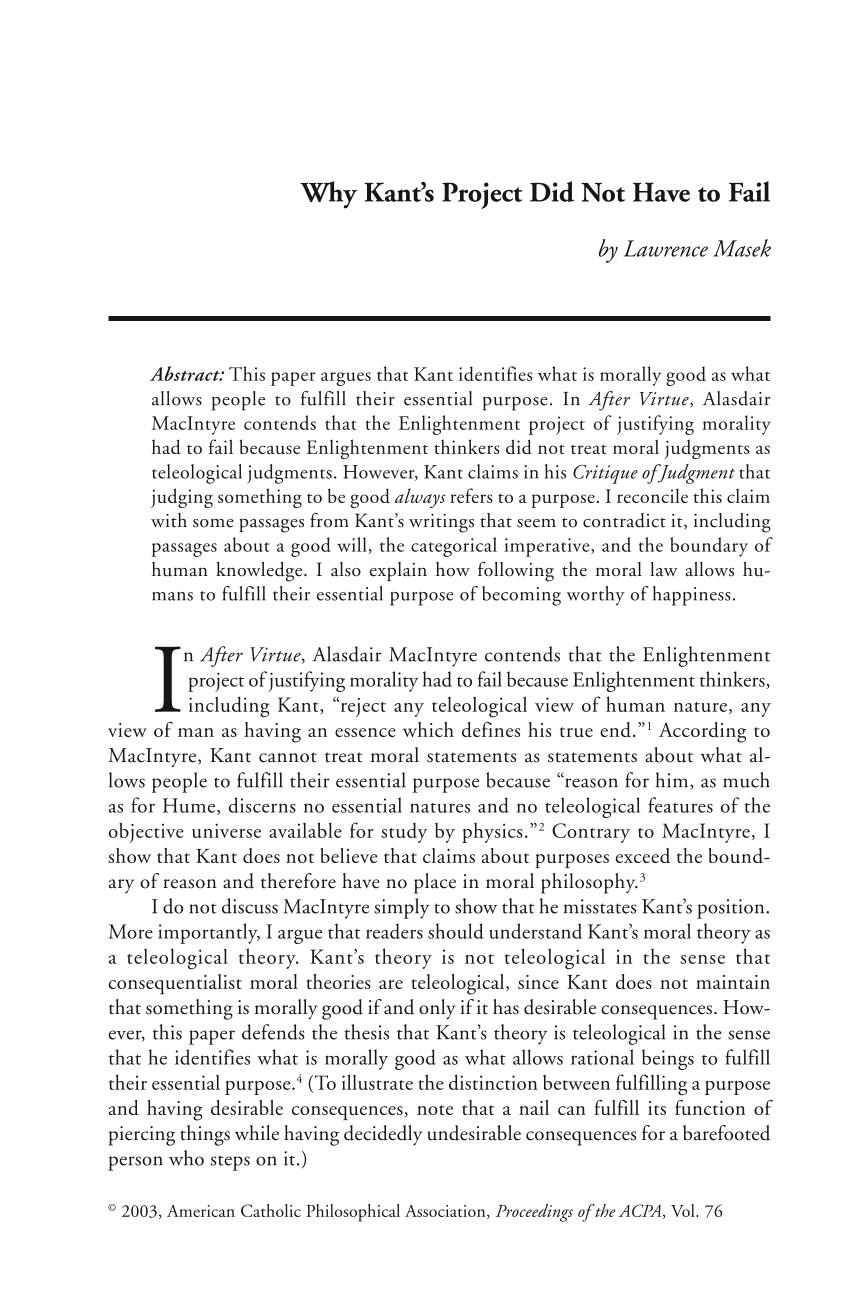 kant moral law theory