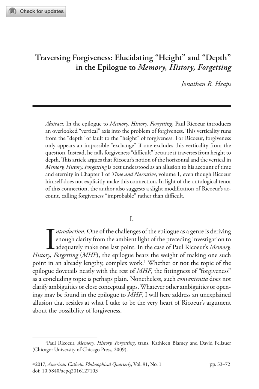 """traversing forgiveness elucidating """"height"""" and """"depth"""" in the  document is being loaded"""