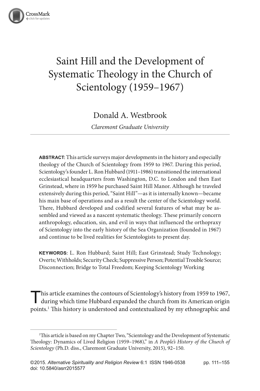 Saint Hill and the Development of Systematic Theology in the