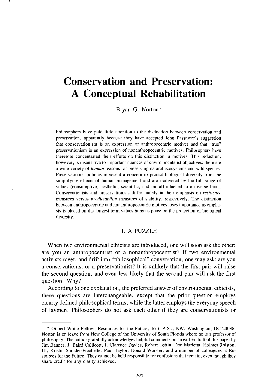 Conservation and preservation a conceptual rehabilitation bryan document is being loaded aljukfo Images
