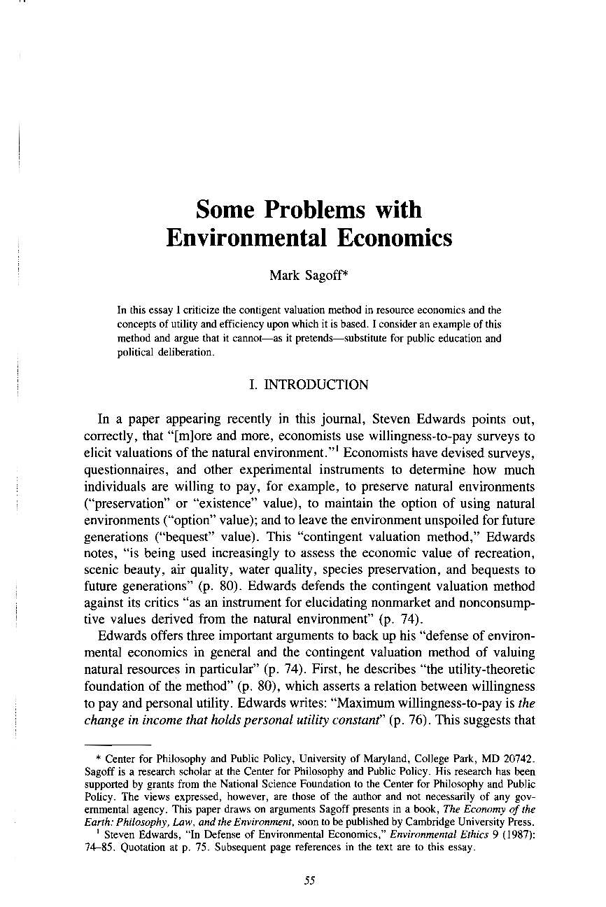 pdfimage pdf enviroethics pdf file type png some problems environmental economics mark sagoff