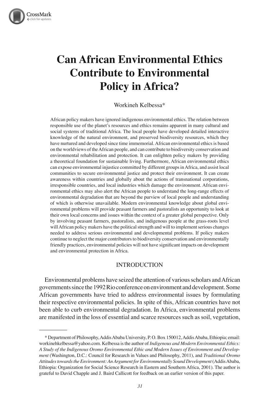 can african environmental ethics contribute to environmental  document is being loaded
