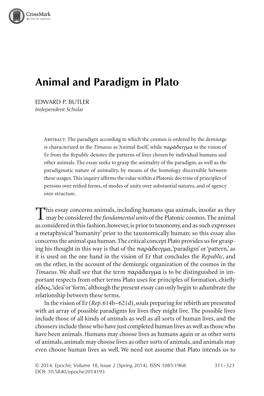 essay platos republic Excellent essay by richard kraut from the stanford encyclopedia of philosophy philosophy talk: plato listen to this excellent plato: the dialogue form - republic.