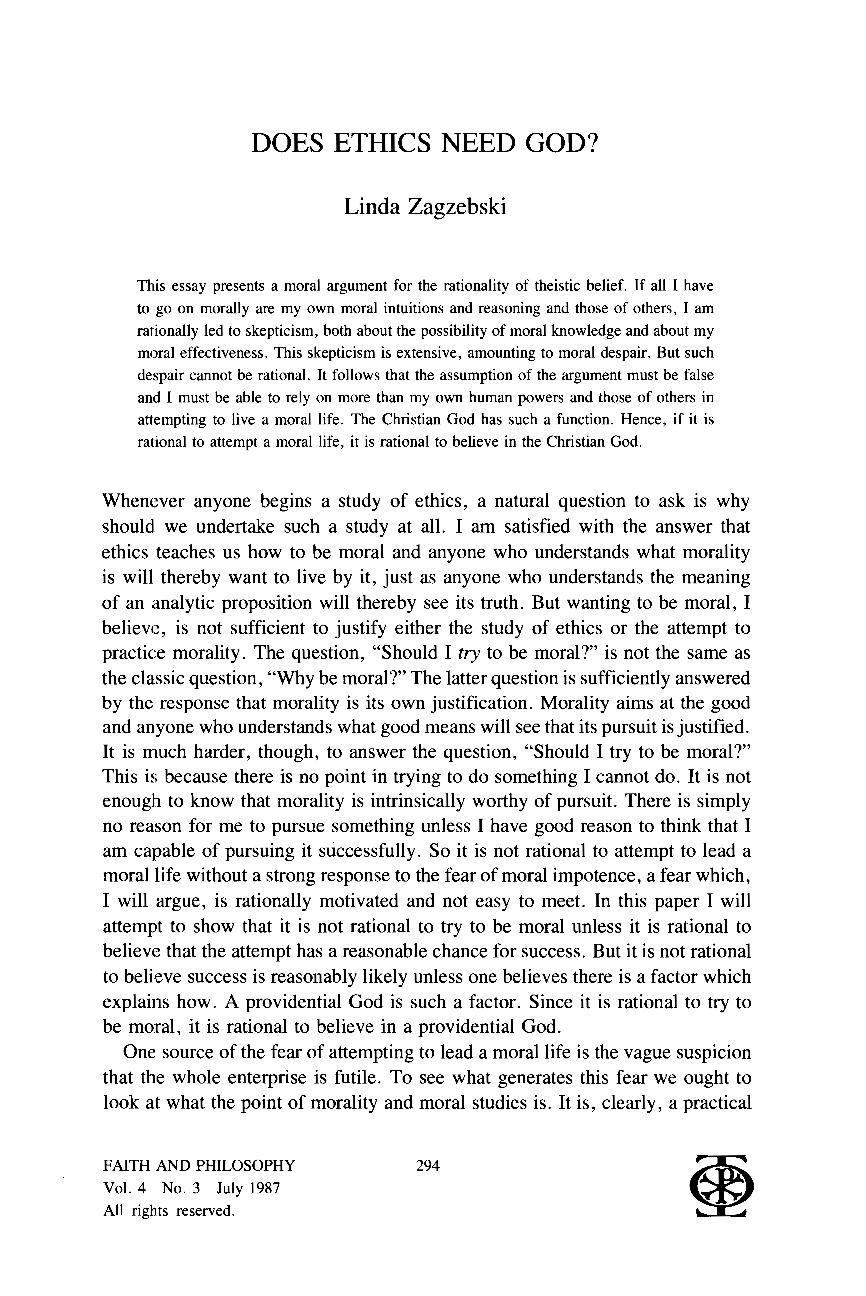 Moral disagreement essay