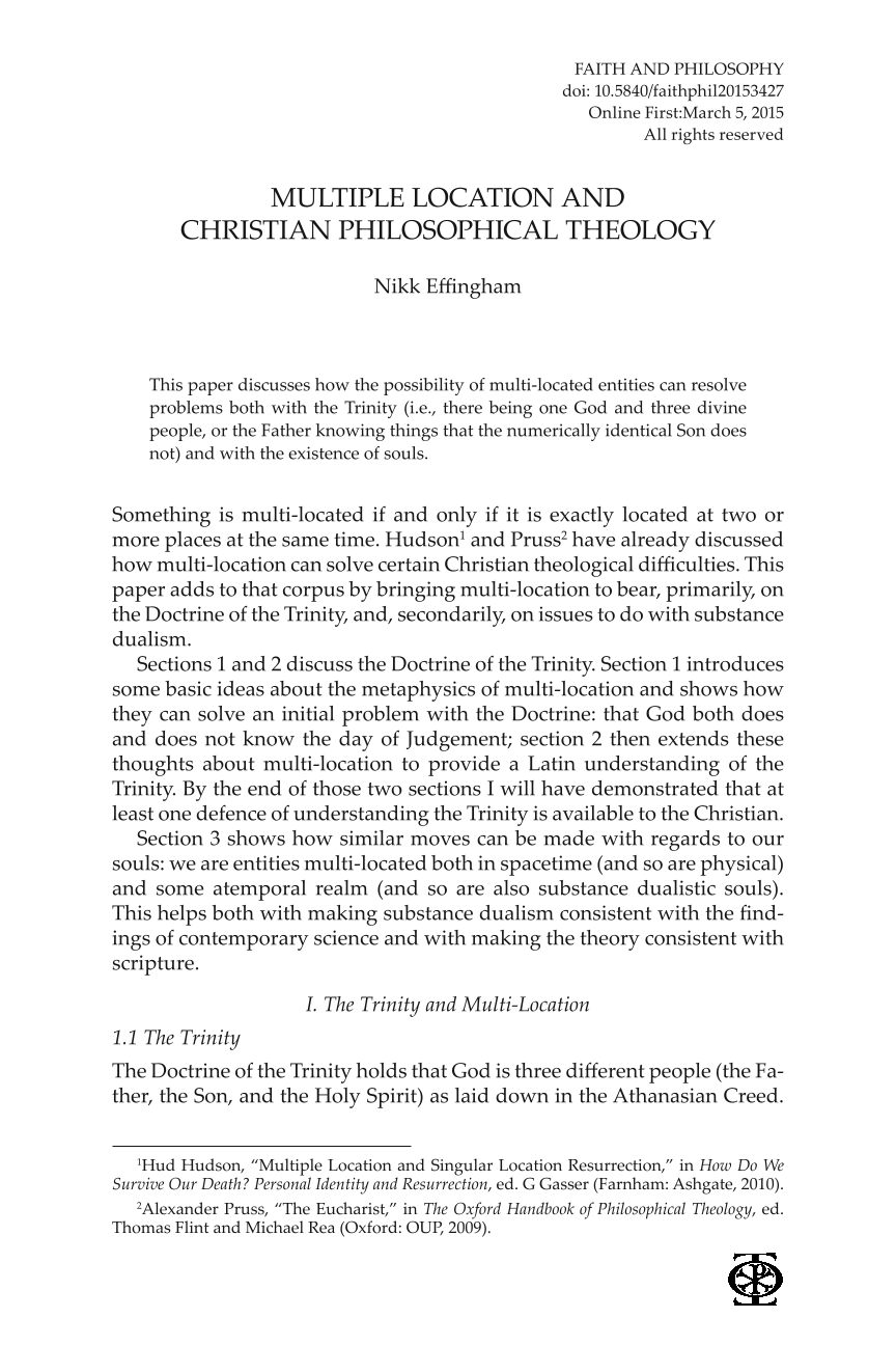multiple location and christian philosophical theology nikk  document is being loaded