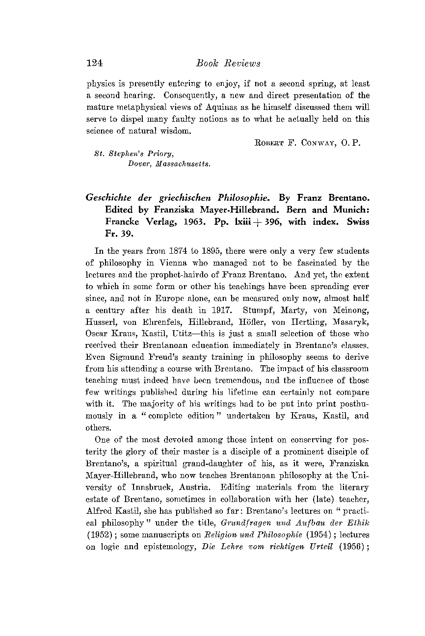 Geschichte der griechischen Philosophie - Felix M  Cleve