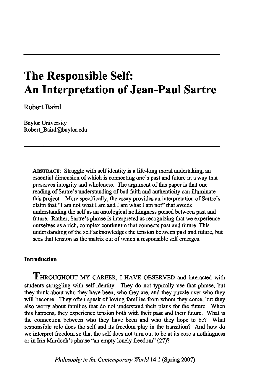 philosophy essay on self essay Writing a philosophy paper that is because it is neither a research paper nor an exercise in literary self in order to produce a good philosophy paper.