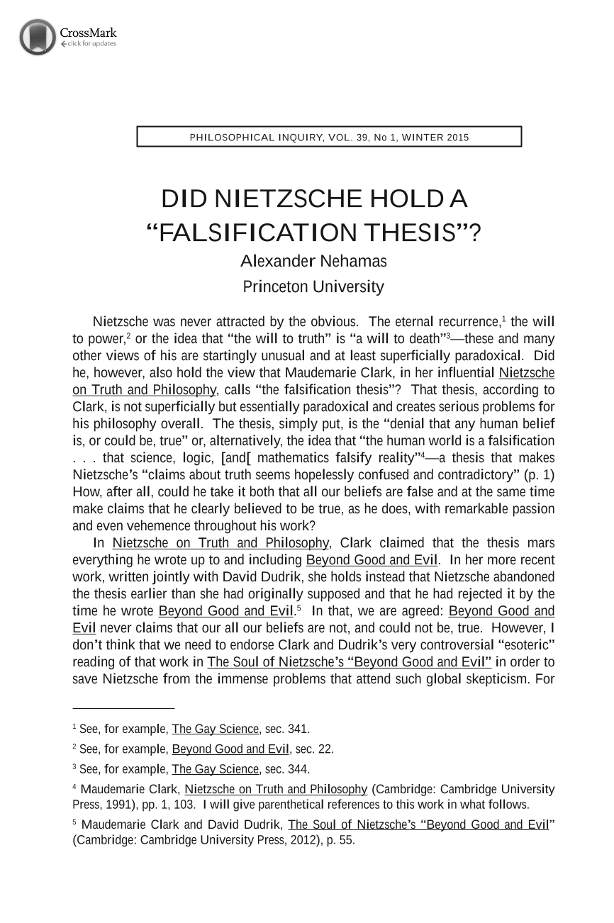 nietzsche doctoral thesis Criterion essay marking research doctoral dissertation search human rights essay thesis labeling off on nietzsche essay (thesis custom homepage.