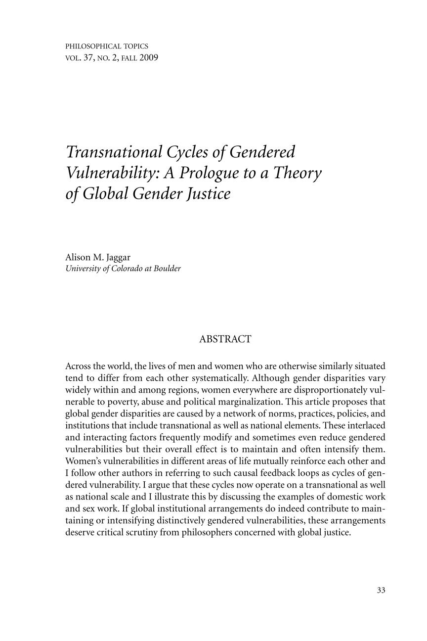 transnational cycles of gendered vulnerability a prologue to a document is being loaded