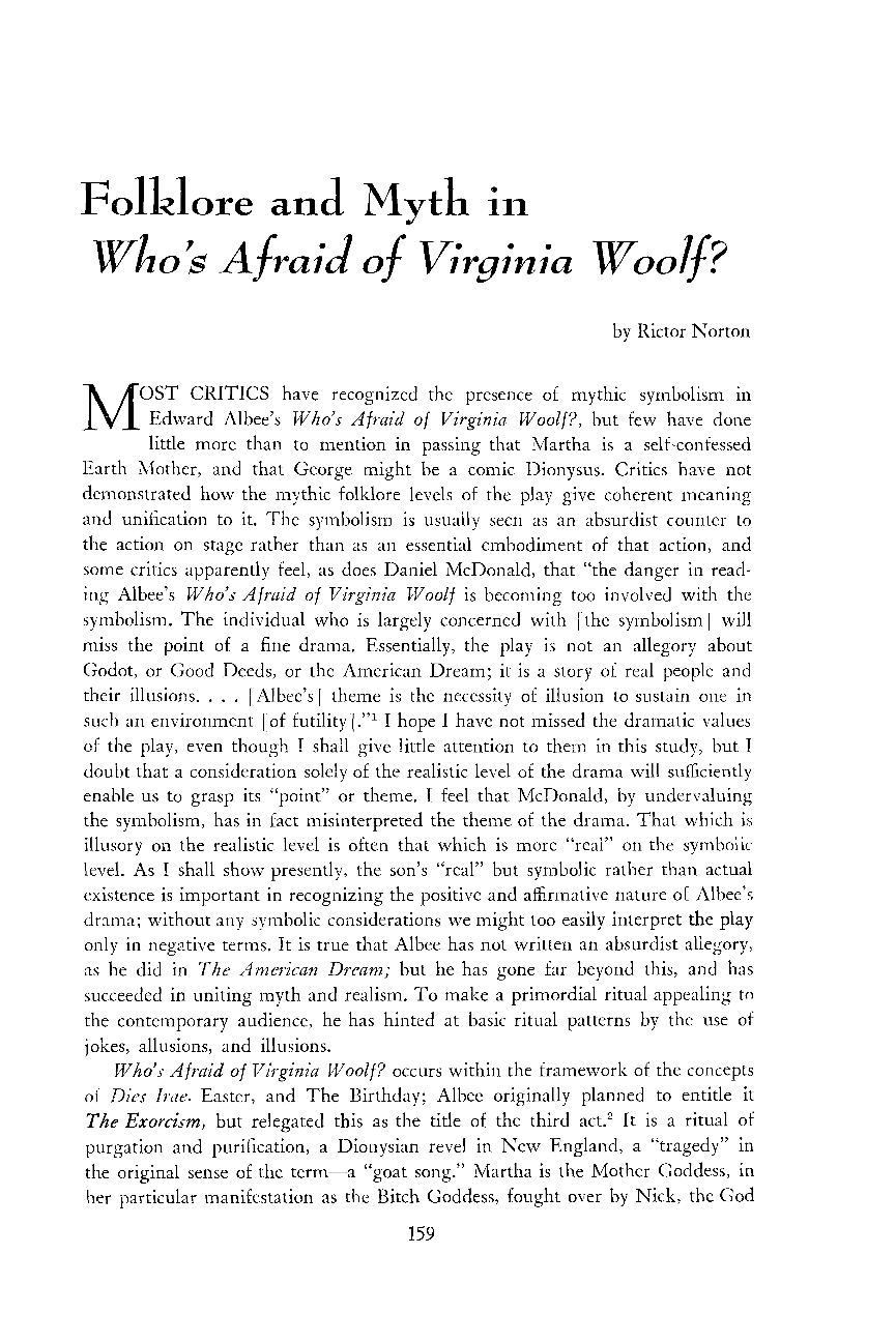 whos afraid of virginia woolf the illusion of reality essay How do the characters in the plays whos afraid of virginia woolf and cat on a hot tin roof protect their versions of reality and to the illusion of the.
