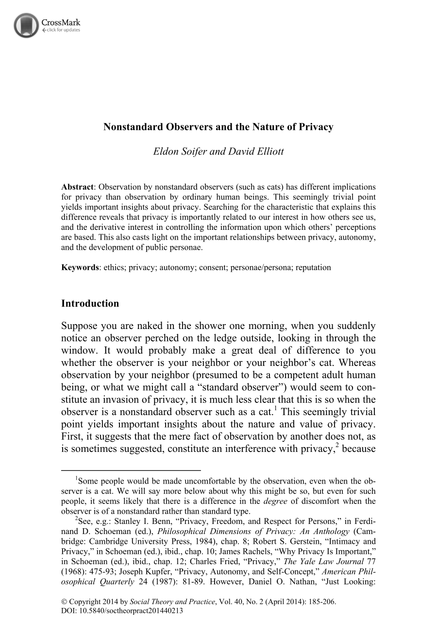 nonstandard observers and the nature of privacy eldon soifer  document is being loaded