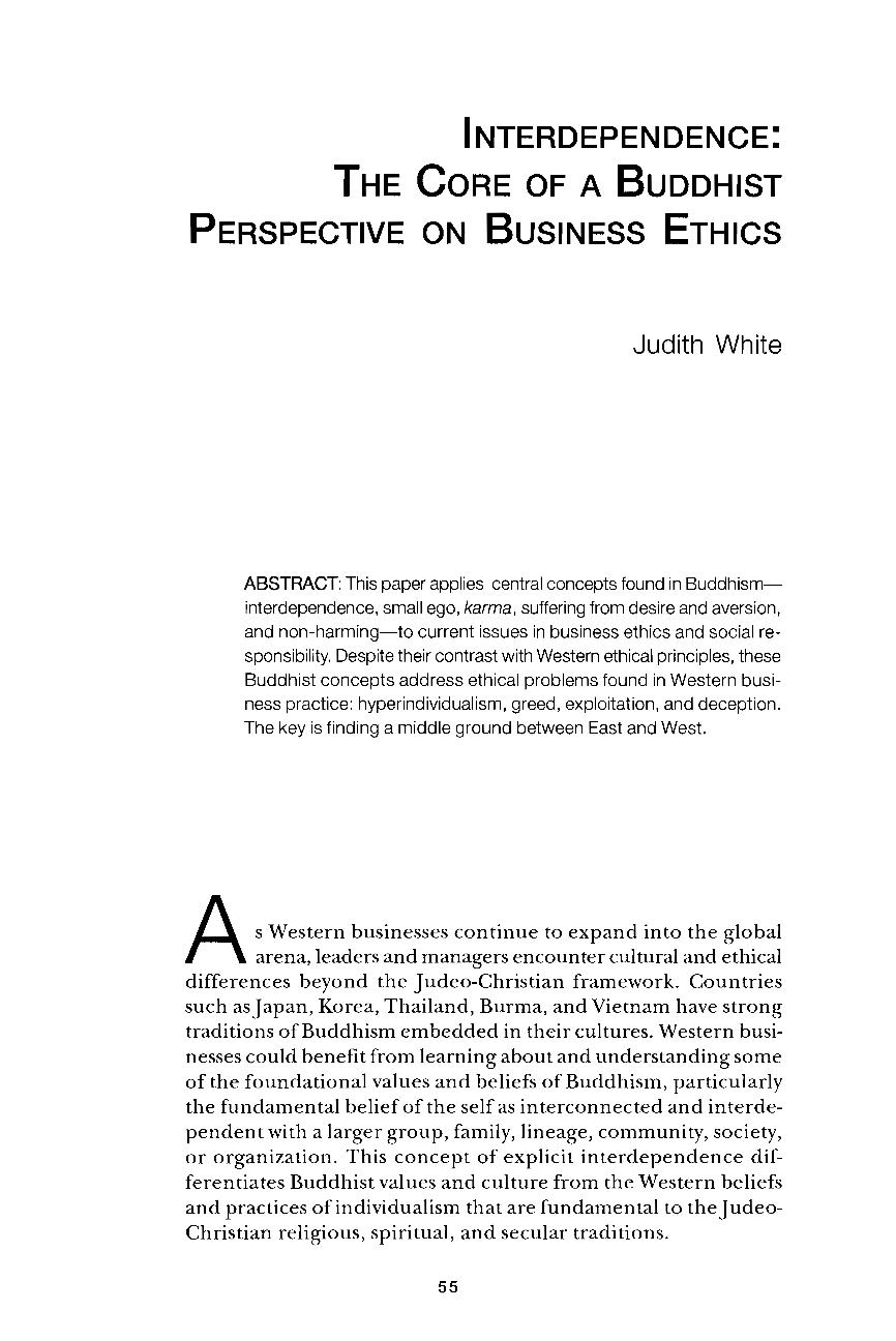The ethics of benevolent deception essay