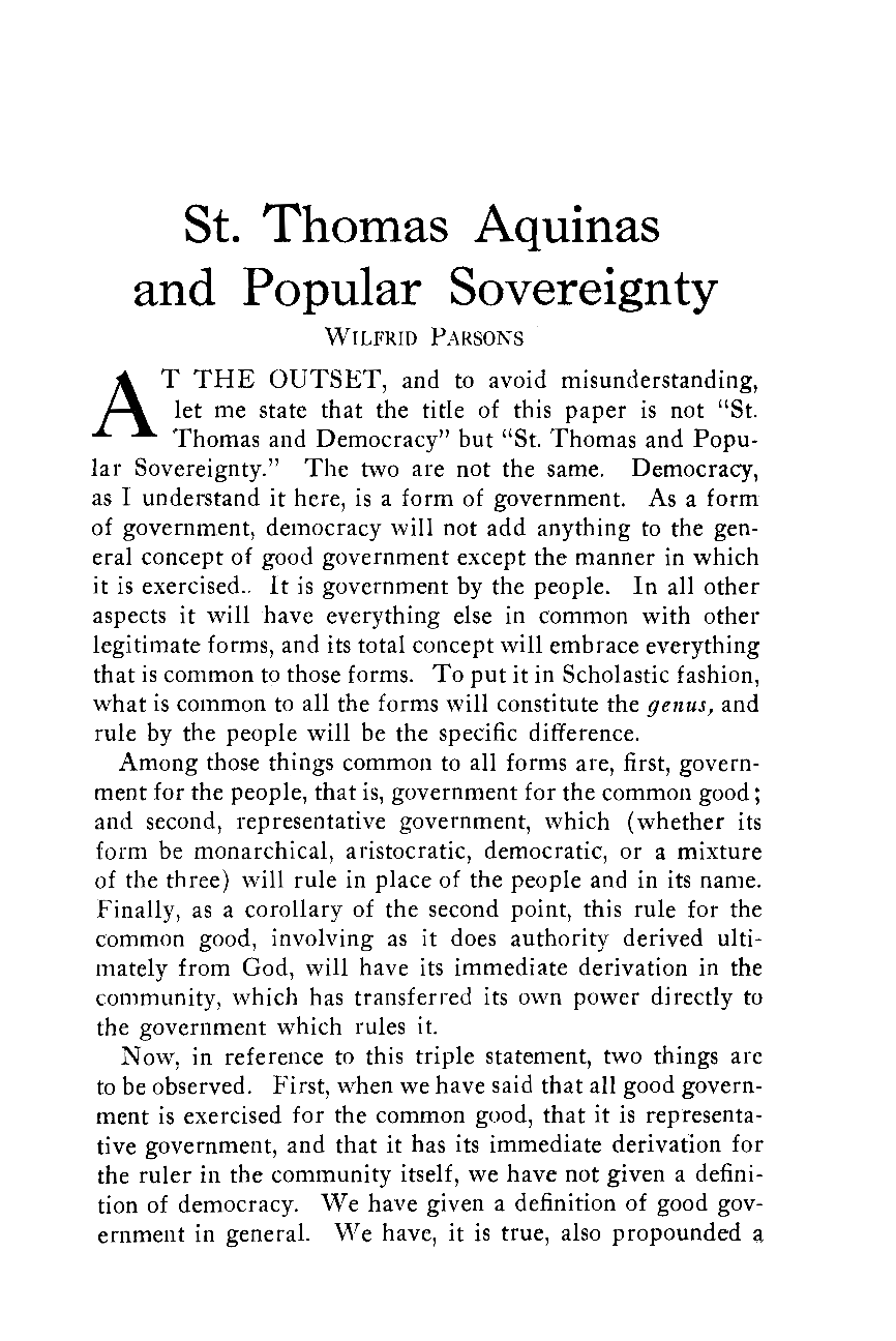 what document is actually common sovereignty in