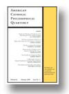 Cover of American Catholic Philosophical Quarterly