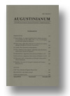Cover of Augustinianum