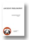 Cover of Ancient Philosophy