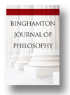 Cover of Binghamton Journal of Philosophy