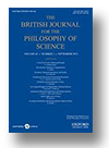 Cover of The British Journal for the Philosophy of Science