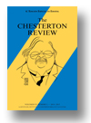 Cover of The Chesterton Review en Español