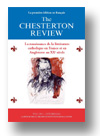 Cover of The Chesterton Review en Français