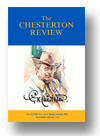 Cover of The Chesterton Review