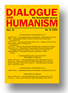 Cover of Dialogue and Humanism