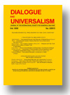 Cover of Dialogue and Universalism