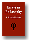 Cover of Essays in Philosophy
