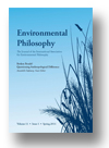 Cover of Environmental Philosophy