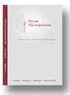 Cover of Forum Philosophicum