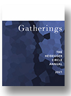 Cover of Gatherings: The Heidegger Circle Annual