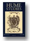 Cover of Hume Studies