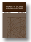 Cover of Idealistic Studies