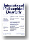 Cover of International Philosophical Quarterly