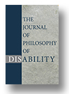 Cover of The Journal of Philosophy of Disability