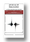 Cover of Journal of Philosophy: A Cross-Disciplinary Inquiry