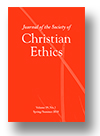 Cover of Journal of the Society of Christian Ethics