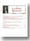 Cover of The Leibniz Review