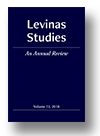 Cover of Levinas Studies