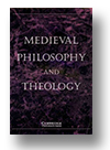 Cover of Medieval Philosophy & Theology