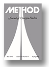 Cover of Method: Journal of Lonergan Studies