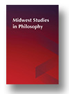 Cover of Midwest Studies in Philosophy