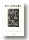 Cover of New Vico Studies