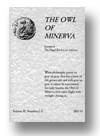 Cover of The Owl of Minerva