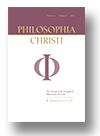 Cover of Philosophia Christi
