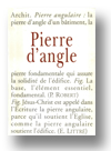 Cover of Pierre d'angle