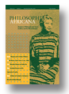 Cover of Philosophia Africana