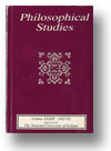Cover of Philosophical Studies